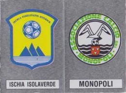 ISCHIA-MONOPOLI -SCUDETTO -FIGURINA1988-89 - N 573  (161114) - Panini