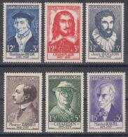 France 1956 Yvert#1066-1071 Mint Hinged (avec Charnieres) - France
