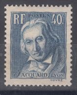 France 1934 Yvert#295 Mint Never Hinged (sans Charnieres)