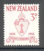 Neuseeland New Zealand 1958 - Michel Nr. 377 ** - Nuovi