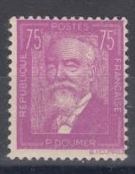 France 1933 Yvert#292 Mint Hinged (avec Charnieres)
