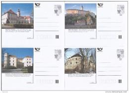 Série Complète   Châteaux Et Architecture 2001  De 8 Cartes A113/120 Michel P 13 A  I - Postwaardestukken