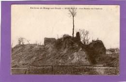 Environs De BLANGY-sur-BRESLE - MONCHAUX - Les Ruines Du Châteaux - 1917 - - Ohne Zuordnung