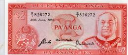 TONGA : 2 Pa Anga 1989 (unc) - Tonga