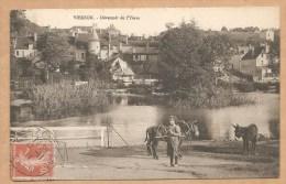 VIERZON. - Deversoir De L'Yèvre - Voyagée 1911 - ANE - MULET - Vierzon