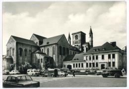 Cpsm Belgique NIVELLES Collegiale Ste Gertrude Hotel De Ville - Nivelles