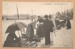 LE TREPORT. -- Marchands De Crevettes -- Métier - Marchande - Crevette - Le Treport