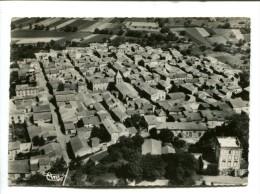 CP - BEAUREGARD L EVEQUE (63) VUE GENERALE AERIENNE - France