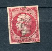France 1853 Imperf 80c Napoleon  Used - 1853-1860 Napoleon III
