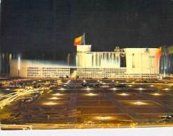 AFRIQUE NOIRE - DAHOMEY ( Actuel BENIN ) COTONOU : Façade Du Palais Sur Le Place De L´Indépendance - CPSM GF - Dahomey