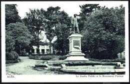 ALèS - Jardin Public Et Monument Pasteur - Non Circulé - Not Circulated - Nicht Gelaufen. - Alès