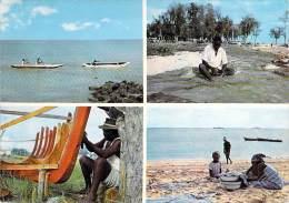 AFRIQUE NOIRE - MOZAMBIQUE Moçambique - Pescadores Nactivos / Native Fisherman / Pêcheur - CPSM GF 1972 África Negra - Mozambique