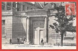 CPA Châlons Sur Marne - École Des Arts Et Métiers - Châlons-sur-Marne