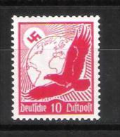 Reich Poste Aérienne N° 44 Neuf ** Gommage Horizontal Michel 530 Y - Poste Aérienne