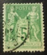 FRANCIA 1898 - 106 - 1898-1900 Sage (Type III)