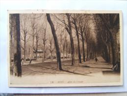 47## AGEN: Allée Du Gravier Et Les Bords Du Canal, L'église Sainte Foy....           2 CPA - Agen