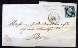 5/ France  : N° 14 SUR  LETTRE   , Cote : 5,00 € , Disperse Belle Collection ! - 1862 Napoleon III