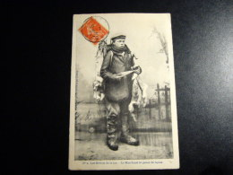 1 Carte Postale LE CROTOY Le Marchand De Peaux De Lapins - Le Crotoy