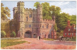 Battle Abbey Nr Hastings - A R Quinton - Salmon No 1003 - Postmark 1916 - Quinton, AR