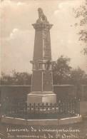 Fotokaart Carte Photo Souvenir De L´inauguration Du Monument De St André  (J.Braham Photographe Herve ) - Dalhem