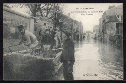 92- Asnières, Les Innondations De Janvier 1910 Rue Dussau - Asnieres Sur Seine