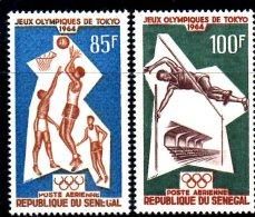OL-G3 - SENEGAL Tokio Olimpiadi Serie Cpl Nuovo  ***  MNH - Summer 1964: Tokyo