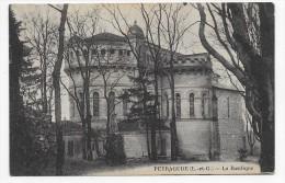 (RECTO/VERSO) PEYRAGUDE EN 1943 - LA BASILIQUE - CPA - France
