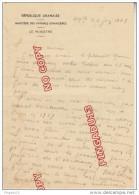 Fixe Top Liban lettre autographe Hamid Frangi� * Ministre Affaires �trang�res R�publique Libanaise Beyrouth 4 Juin 1949