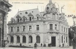 Langres (Haute-Marne) - Le Nouvel Hôtel De La Caisse D´Epargne - Edition A. Veyssière - Banks