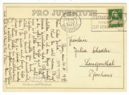 Suisse//Schweiz//Svizerra // Switzerland//Pro-Juventute // Carte Pro-Juventute 1927 No. 139 - Lettres & Documents