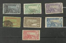 Guadeloupe N°55, 58, 60, 61, 66, 77, 78 Cote 4.40 Euros - Guadeloupe (1884-1947)