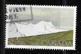 CANADA, 1979, USED, # 727 HIGH-VALUE NATIONAL PARK: KLUANE NATIONAL PARK $ 2.00         WYSIWYG - 1937-1952 Règne De George VI