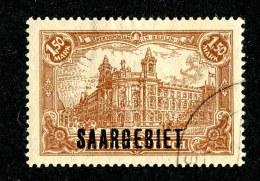 14831 - Saar 1920   Michel # 42 (o) ( Cat. €1.50 ) - 1920-35 Saargebiet – Abstimmungsgebiet