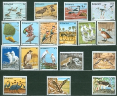 Botswana 1982 Birds MNH** - Lot. 4425 - Bhutan