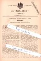 Original Patent  - Alphonse Alexandre Foiret In Paris , 1893 , Magazin-Camera , Photographie , Fotoapparat !!! - Fotoapparate