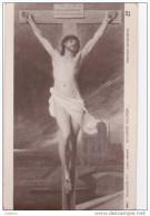 Cpa Lionel Royer - Salon 1912 - 1603 - Le Christ En Croix - Peintures & Tableaux