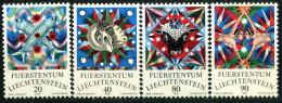 Liechtenstein - Michel 658 / 661 - ** Postfrisch (B) - Tierkreiszeichen I - Liechtenstein
