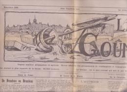 """Payerne - Brandons Journal De La Fête 1925 """" Le Goûme """" ; 6 Pages De 56 / 38 Cm - Carnaval"""