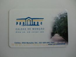 Câmara Municipal De Monção Caldas De Monção Portugal Portuguese Pocket Calendar 2002 - Calendarios
