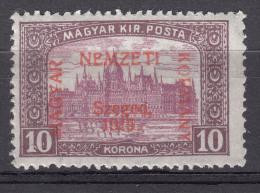 Hungary Szegedin Szeged 1919 Mi#20 Mint Never Hinged, Expert Mark - Szeged