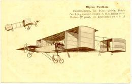 CPA A - Biplan PAULHAM  (Avion) - Aviation