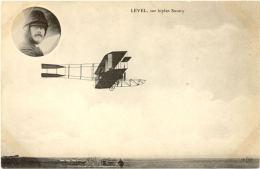 CPA A - Level Sur Biplan SAVARY(Avion) - Aviation