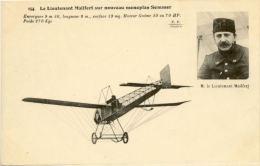 CPA A - Lieutenant Mailfert Sur Nouveau Monoplan SOMMER (Avion) - Aviation