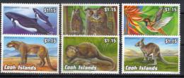 Cook Islands,Animals II 1992.,MNH - Cook Islands