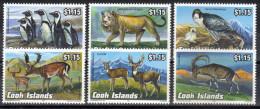 Cook Islands,Animals III 1992.,MNH - Cook Islands