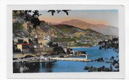 MONTE CARLO VU DE MONACO - N° 2808 - FORMAT CPA NON VOYAGEE - Monte-Carlo