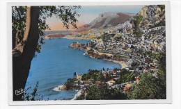 LA PRINCIPAUTE DE MONACO - N° 2842 - VUE DE ROQUEBRUNE - CAP MARTIN - FORMAT CPA NON VOYAGEE - Monaco