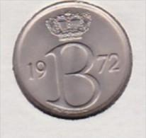*BAUDOUIN* 25 CENTIMES*1972 (française)  Type Monogramme B  ***ISSUE DU SET FDC*** - 1951-1993: Baudouin I