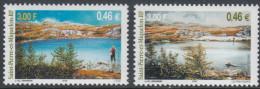 St. Pierre And Miquelon 2001 Seasons I, Autumn And Winter. Mi 830-831 MNH - St.Pierre & Miquelon