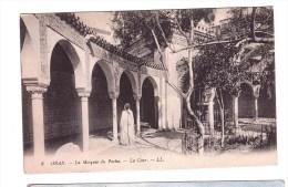 ORANO La Mosque Du Pacha Very Fine Used Post Card  To Rome 18-6-1923 - Islam